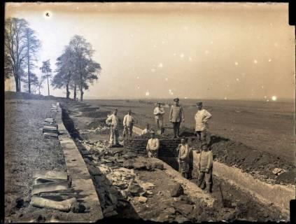 ARH NL Kageler 167, 1. Weltkrieg, Schulterwehren, Frankreich, zwischen 1914/1918