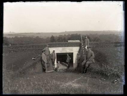 ARH NL Kageler 171, 1. Weltkrieg, Artilleriestellung, Frankreich, zwischen 1914/1918