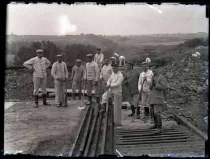 ARH NL Kageler 177, 1. Weltkrieg, Unterstandsdeckung (Schienen), Frankreich, zwischen 1914/1918