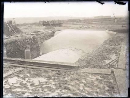 ARH NL Kageler 178, 1. Weltkrieg, Unterstandsdeckung im fertigem Zustand, Frankreich, zwischen 1914/1918