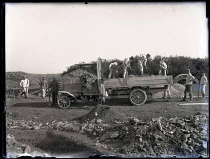 ARH NL Kageler 180, 1. Weltkrieg, Kiesauto, Frankreich, zwischen 1914/1918