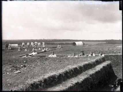 ARH NL Kageler 181, 1. Weltkrieg, Schützengraben im Zickzack, Frankreich, zwischen 1914/1918