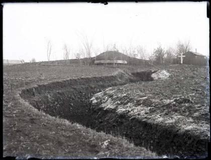 ARH NL Kageler 182, 1. Weltkrieg, Schützengraben, Frankreich, zwischen 1914/1918