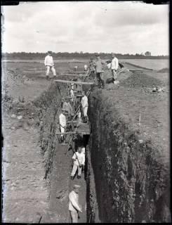 ARH NL Kageler 183, 1. Weltkrieg, tiefer Schützengraben, Frankreich, zwischen 1914/1918