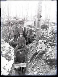 ARH NL Kageler 185, 1. Weltkrieg, Verbindungsgraben, Frankreich, zwischen 1914/1918