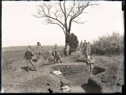 ARH NL Kageler 186, 1. Weltkrieg, Schützengrabenbau, Frankreich, zwischen 1914/1918