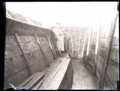 ARH NL Kageler 189, 1. Weltkrieg, Salonstellung: 2. Stellung in Mailly, Frankreich, zwischen 1914/1918