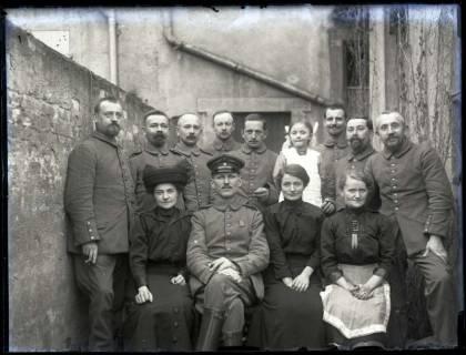ARH NL Kageler 191, 1. Weltkrieg, Geburtstag am 05.03.1915, Maizières-lès-Metz, Frankreich, 1915