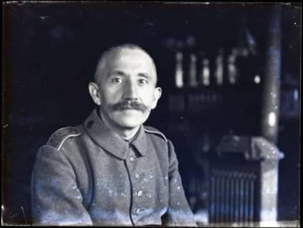 ARH NL Kageler 193, 1. Weltkrieg, Selbstporträt, Frankreich, zwischen 1914/1918