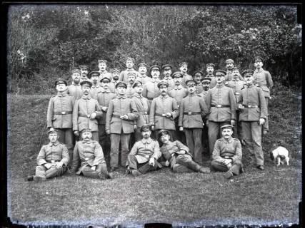 ARH NL Kageler 196, 1. Weltkrieg, Gesangsabteilung, Frankreich, zwischen 1914/1918
