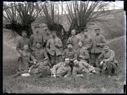 ARH NL Kageler 197, 1. Weltkrieg, Korporalschaft, Gravelotte, Frankreich, 1915