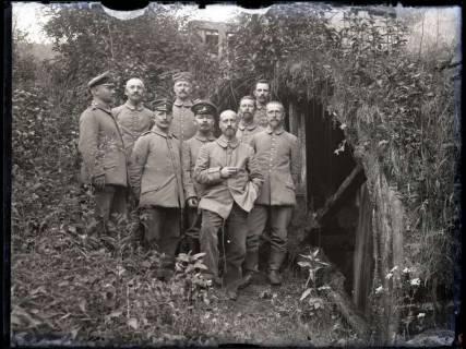 ARH NL Kageler 198, 1. Weltkrieg, neun Lehrer, Gravelotte, Frankreich, zwischen 1914/1918