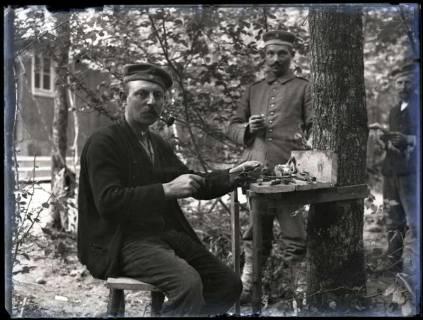 ARH NL Kageler 200, 1. Weltkrieg, Soldat als Handwerker, Frankreich, zwischen 1914/1918