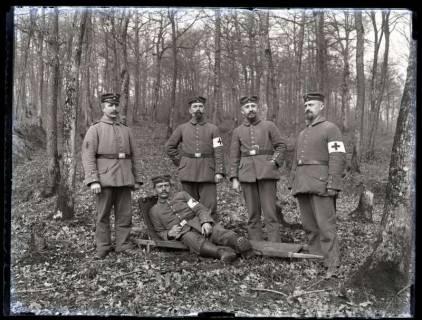 ARH NL Kageler 202, 1. Weltkrieg, Krankenträger, Frankreich, zwischen 1914/1918