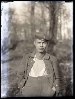 ARH NL Kageler 203, 1. Weltkrieg, junger Soldat, Frankreich, zwischen 1914/1918