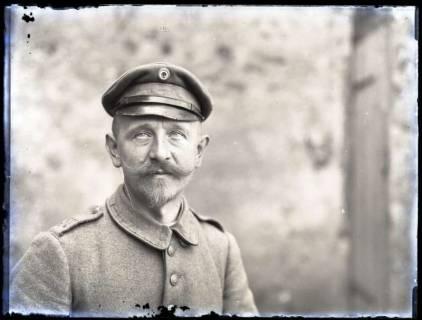 ARH NL Kageler 204, 1. Weltkrieg, Selbstporträt, Frankreich, zwischen 1914/1918