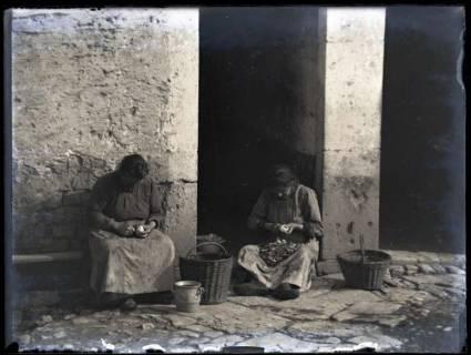 ARH NL Kageler 206, 1. Weltkrieg, Kartoffelschälen, Frankreich, zwischen 1914/1918