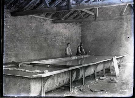 ARH NL Kageler 229, 1. Weltkrieg, Waschhaus in Gravelotte, Frankreich, zwischen 1914/1918