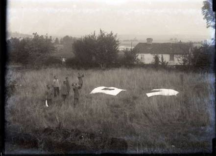 ARH NL Kageler 230, 1. Weltkrieg, Fliegertücher in Mailly, Frankreich, zwischen 1914/1918