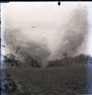 ARH NL Kageler 232, 1. Weltkrieg, Sprengung bei Secourt, Frankreich, zwischen 1914/1918