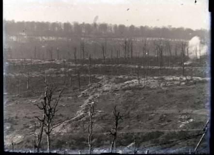 ARH NL Kageler 239, 1. Weltkrieg, einschlagende Granate, Maashöhen, Frankreich, zwischen 1914/1918