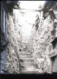 ARH NL Kageler 242, 1. Weltkrieg, Graben mit Blende, Maashöhen, Frankreich, zwischen 1914/1918