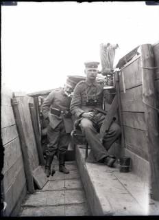 ARH NL Kageler 243, 1. Weltkrieg, Scherenfernrohr, Abaucourt, Frankreich, zwischen 1914/1918