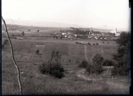 ARH NL Kageler 245, 1. Weltkrieg, einschlagende Granate in Mailly, Frankreich, zwischen 1914/1918