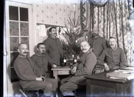 ARH NL Kageler 251, 1. Weltkrieg, Weihnachten 1917, Arnaville, Frankreich, um 1917