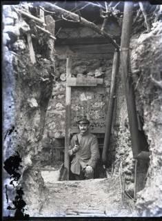 ARH NL Kageler 257, 1. Weltkrieg, Kompanieführer, Maashöhen, Frankreich, zwischen 1914/1918