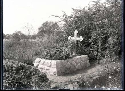 ARH NL Kageler 262, 1. Weltkrieg, Husarengrab. Ressaincourt, Frankreich, zwischen 1914/1918