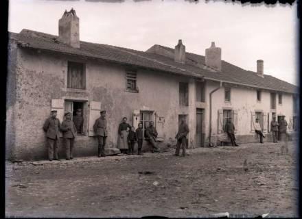 ARH NL Kageler 263, 1. Weltkrieg, Quartier im Solgen (Solgne), Frankreich, zwischen 1914/1918