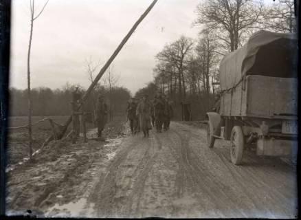 ARH NL Kageler 275, 1. Weltkrieg, Kontrollposten, Frankreich, zwischen 1914/1918