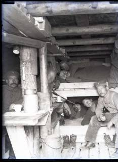ARH NL Kageler 292, 1. Weltkrieg, Wohnbaracke, Frankreich, zwischen 1914/1918