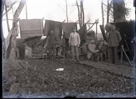 ARH NL Kageler 293, 1. Weltkrieg, Diensthunde, Frankreich, zwischen 1914/1918