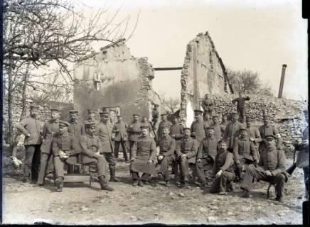 ARH NL Kageler 294, 1. Weltkrieg, Gruppenbild, Frankreich, zwischen 1914/1918