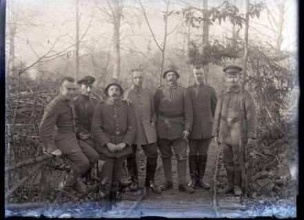 ARH NL Kageler 297, 1. Weltkrieg, Gruppenbild, Frankreich, zwischen 1914/1918