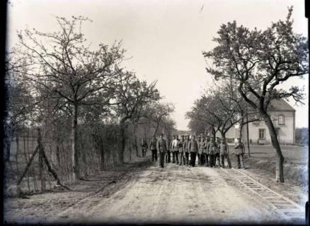 ARH NL Kageler 307, 1. Weltkrieg, Auf der Straße Sologne-Unterhofen, Frankreich, zwischen 1914/1918