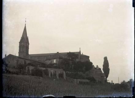 ARH NL Kageler 311, 1. Weltkrieg, Kirche in Ars-sur-Moselle, Frankreich, zwischen 1914/1918
