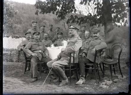 ARH NL Kageler 313, 1. Weltkrieg, Kaffee in der Mounea-Schlucht, Frankreich, zwischen 1914/1918