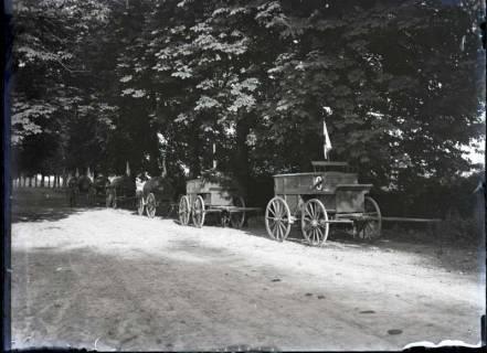 ARH NL Kageler 314, 1. Weltkrieg, Sanitätskolonne, Frankreich, zwischen 1914/1918