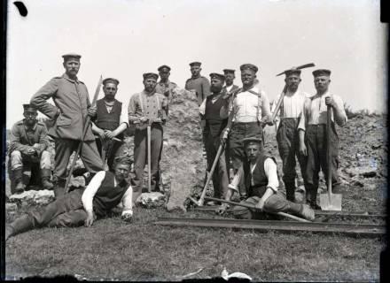 """ARH NL Kageler 317, 1. Weltkrieg, """"Der große Stein"""", Frankreich, zwischen 1914/1918"""