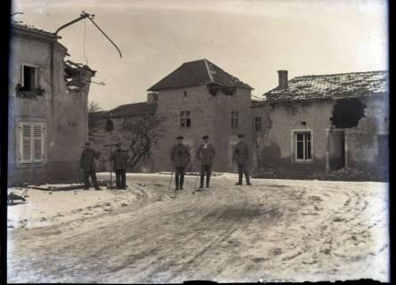ARH NL Kageler 318, 1. Weltkrieg, Quartier in Solgne, Frankreich, zwischen 1914/1918