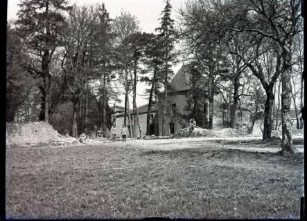 ARH NL Kageler 321, 1. Weltkrieg, zwischen Bäumen in Montigny, Frankreich, zwischen 1914/1918