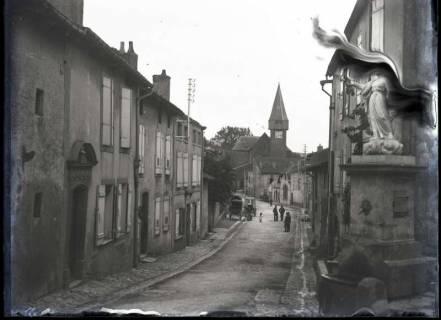 ARH NL Kageler 324, 1. Weltkrieg, Straße in Ancy-sur-Moselle, Frankreich, ohne Datum