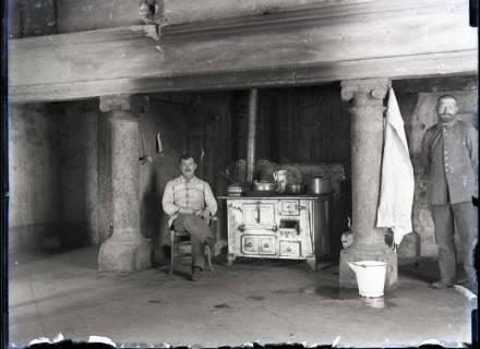 ARH NL Kageler 326, 1. Weltkrieg, Küche des Quartiers in Montigny, Frankreich, ohne Datum