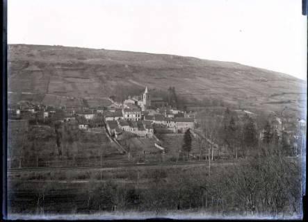 ARH NL Kageler 329, 1. Weltkrieg, Blick auf Mailly-sur-Seille, Frankreich, zwischen 1914/1918