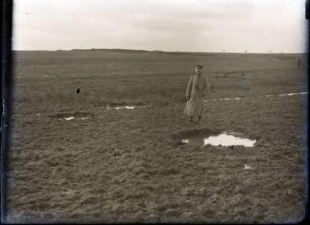 ARH NL Kageler 331, 1. Weltkrieg, Granatlöcher in der Nähe von Mailly-sur-Seille, Frankreich, zwischen 1914/1918