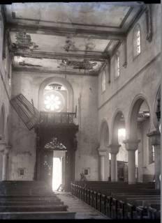 ARH NL Kageler 333, 1. Weltkrieg, Zerstörung in der Kirche von Abaucourt, Frankreich, zwischen 1914/1918