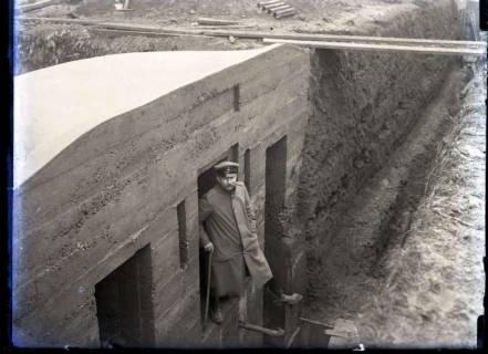 ARH NL Kageler 337,  1. Weltkrieg, Fertige Stellung mit Posten, Frankreich, zwischen 1914/1918